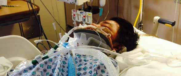 Los médicos han declarado la muerte cerebral de Mariano De Jesús por severas complicaciones debido a un fuerte golpe recibido en la cabeza.