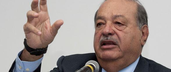 Carlos Slim, fundador de la Fundación Carlos Slim.