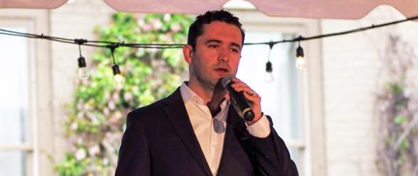 César Restrepo uno de los fundadores de Emprendedores Latinos USA
