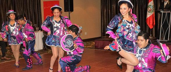 Una de las estampas culturales de Puno en Perú