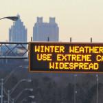 Alerta de clima severo y pronóstico de nieve