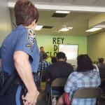 Policía y comunidad en busca de mutuo apoyo