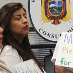Ecuatorianos apoyan petición de TPS desde Atlanta