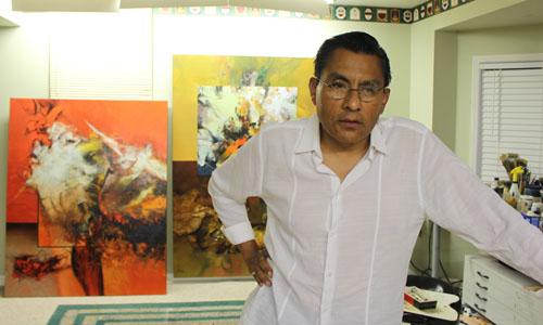 Pedro Fuertes artista plástico peruano