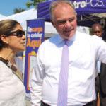 Tim Kaine: Promete reforma migratoria desde Atlanta