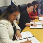 Consulados de Honduras y El Salvador ratifican acuerdo con Departamento de Trabajo