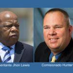 """""""Cerdo racista"""", llama comisionado de Gwinnett a representante afro americano"""