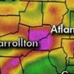 Alerta por inundaciones en Atlanta y temblor de tierra en Augusta