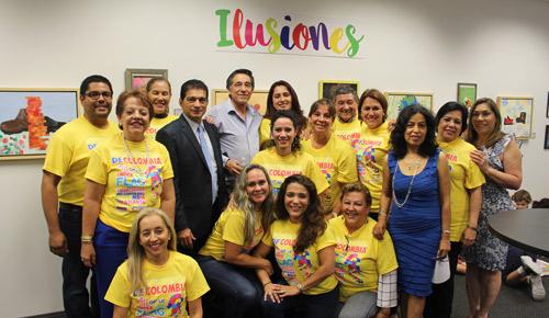 e951e74fe9 Grupo de voluntarios del consulado de Colombia en Atlanta