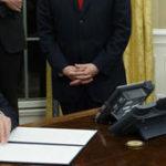 Trump firma declaración de emergencia para Georgia