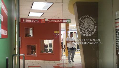 Más de cien mil trámites completó consulado mexicano en Atlanta